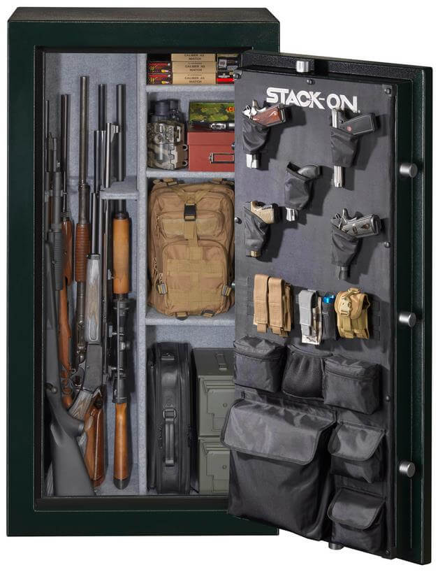 stack-on door opened