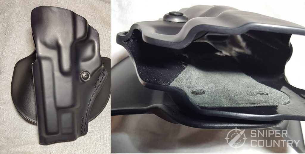 5198 OWB holster profile