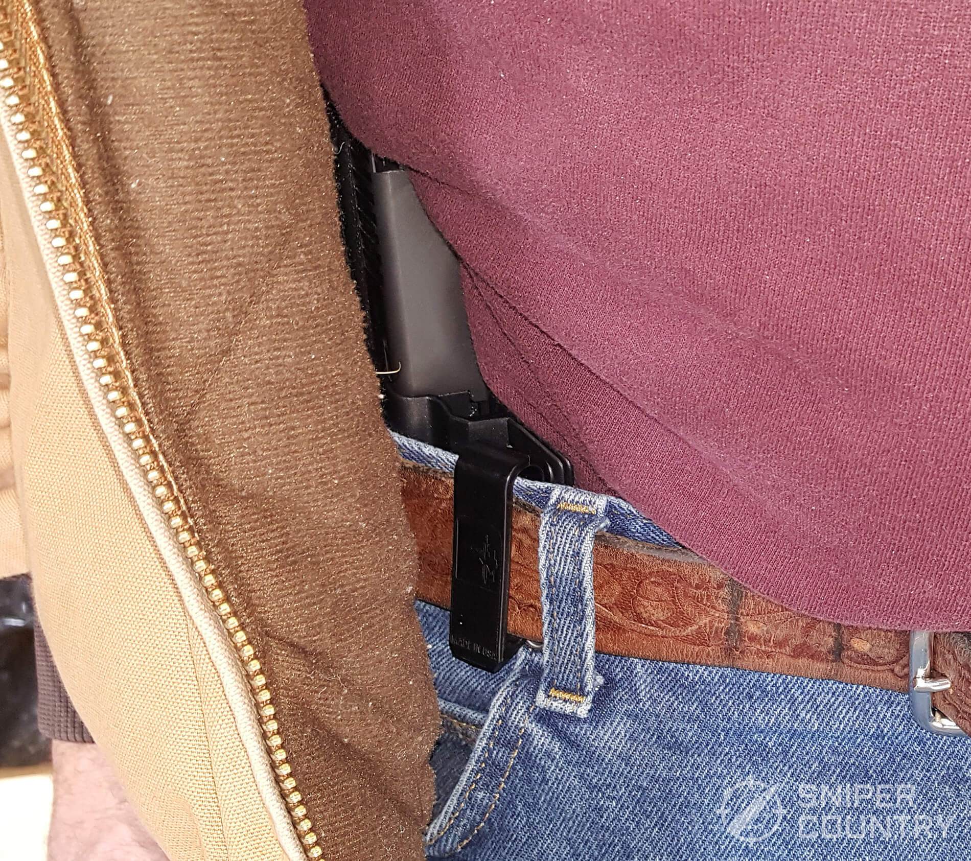 Bravo Concealment Torsion Holster 3.0 on belt 3