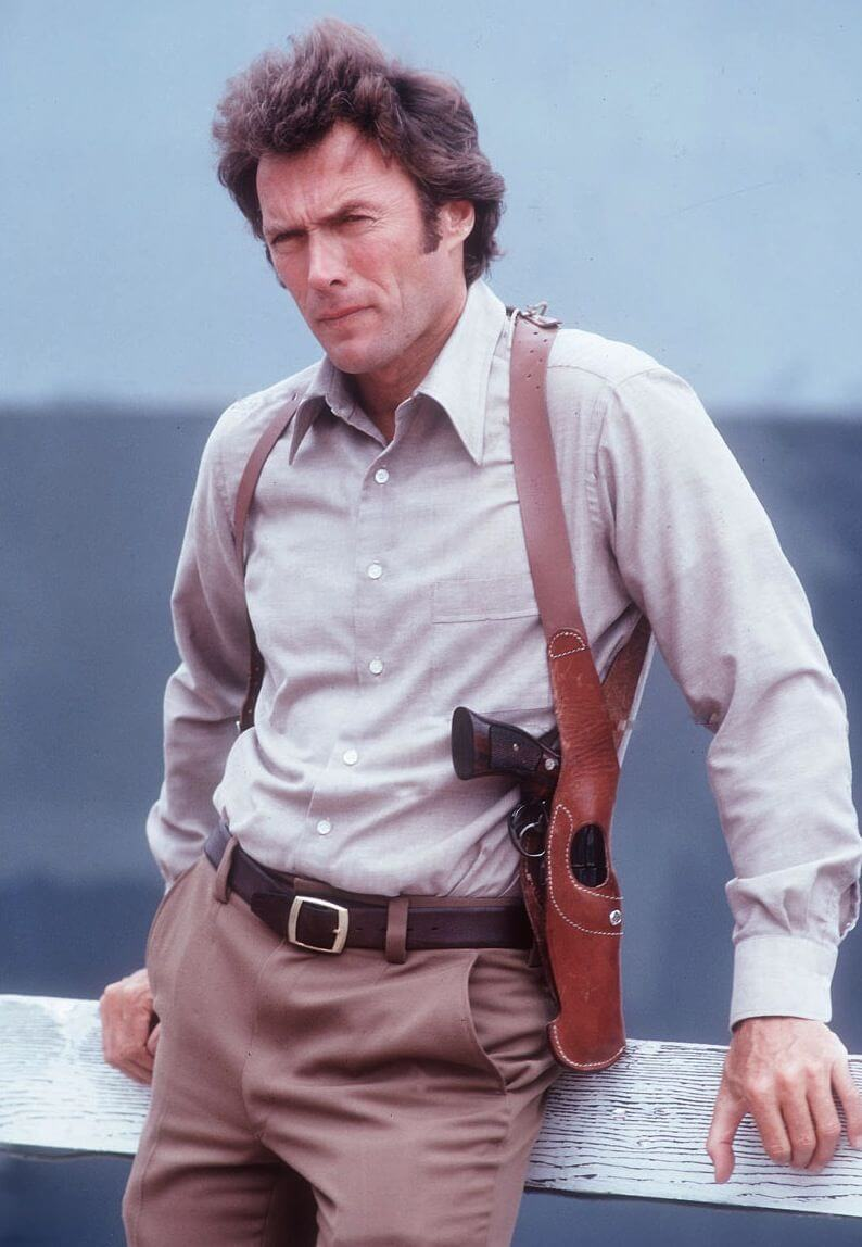 Clien Eastwood in Dirty Harry