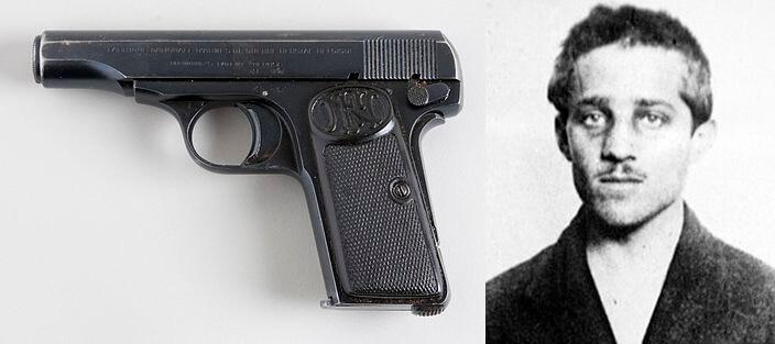 FN 1910 & Gavrilo Princip