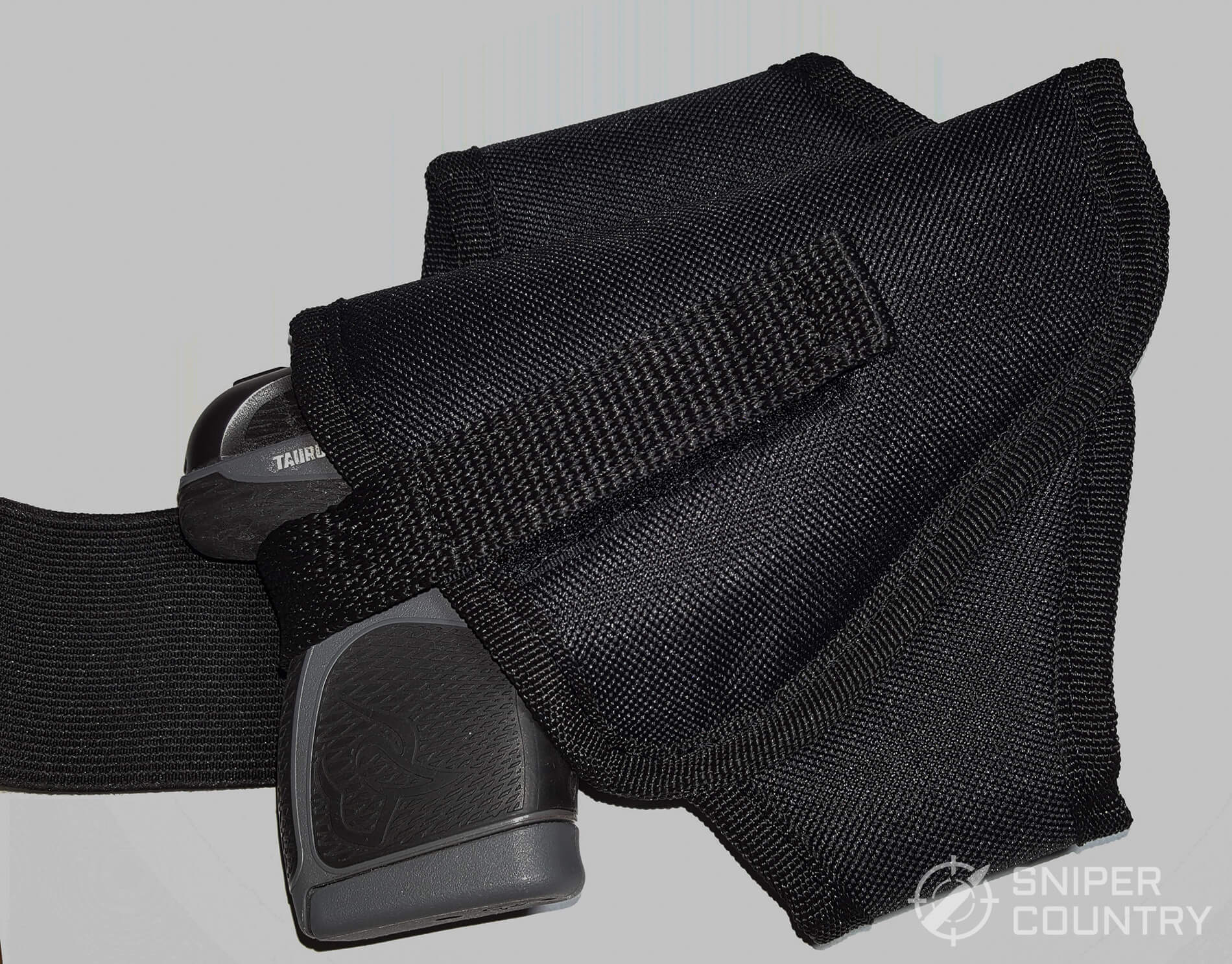Houston GH 68 B AKH Ankle Holster with Taurus Spectrum 2
