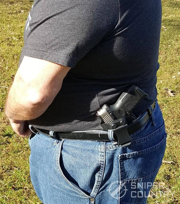 Taurus G2C in IWB Holster