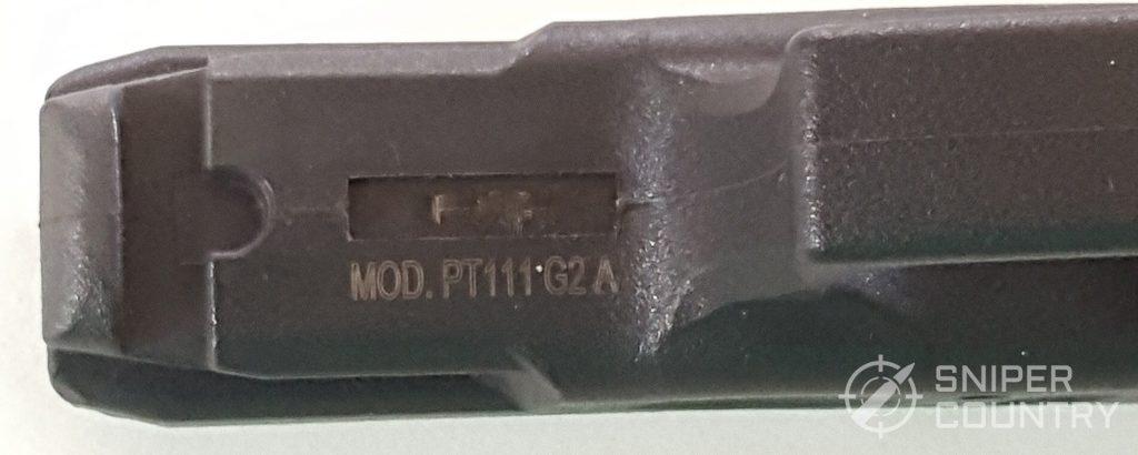 Taurus G2C Model Number