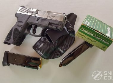 Taurus G2C with holster and ammo