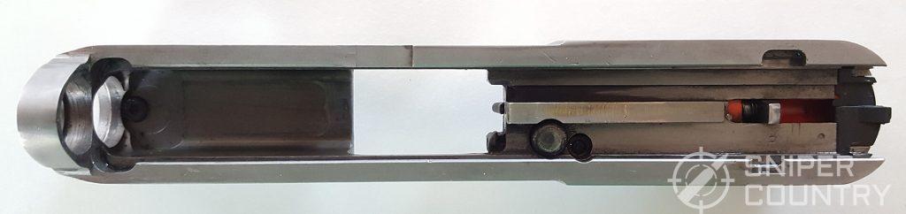 underside of slide of Taurus G2C