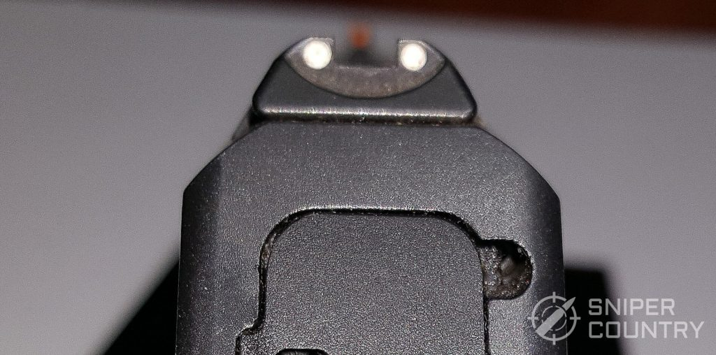 LC9S rear sight