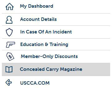USCCA My Dashboard