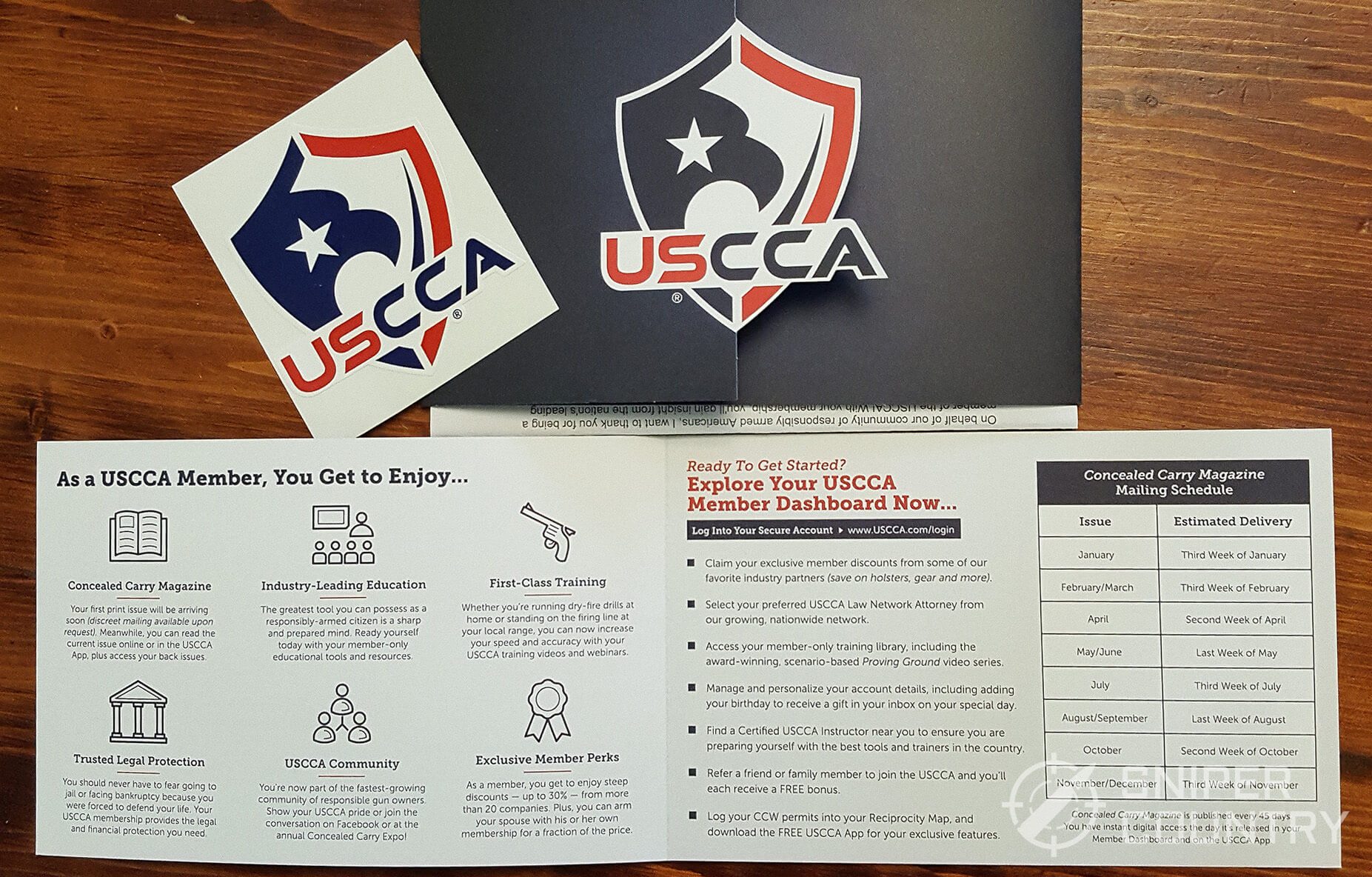 USCCA Sign Up Materials