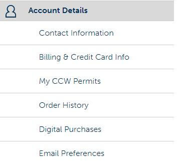 Account Details USCCA