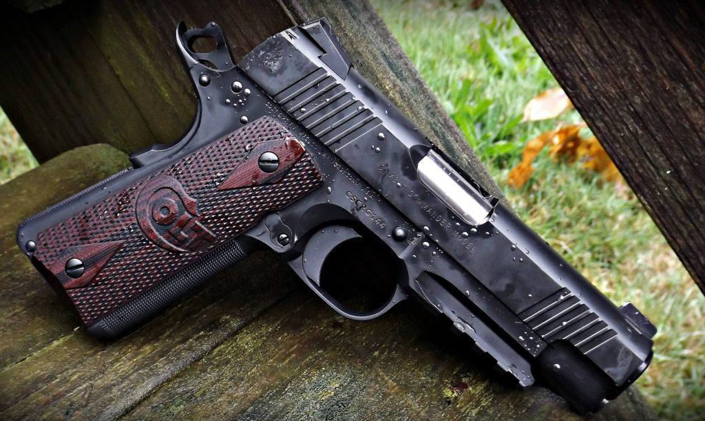 Colt Commander Rail Gun