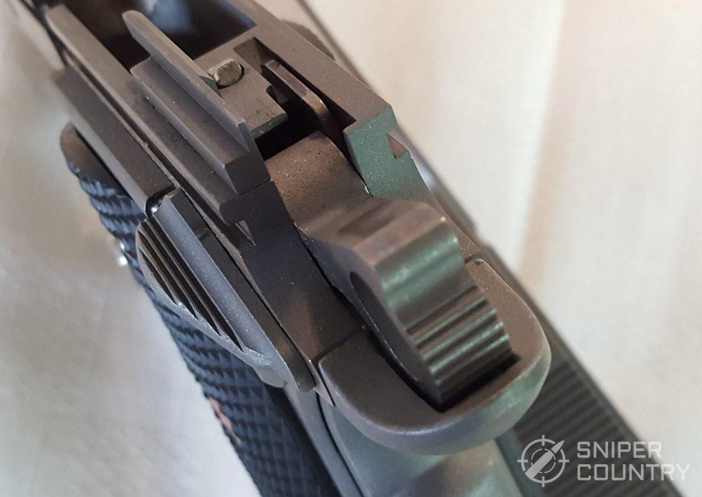 Colt Commander hammer detail