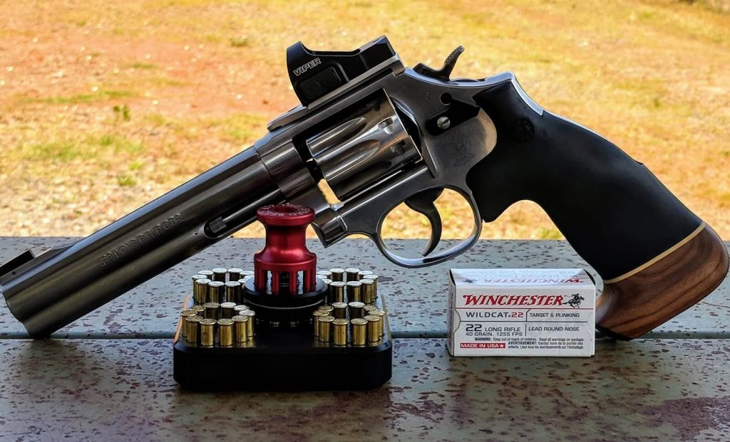 Revolver with Red Dot