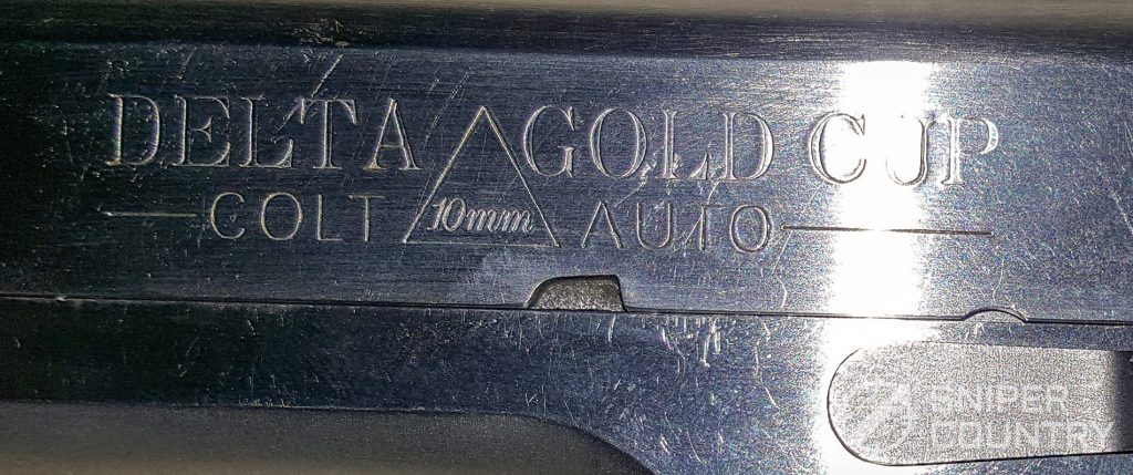 left side slide engraving