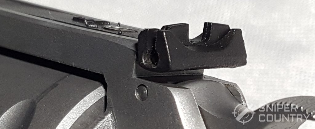 Pathfinder Rear Sight from Behind