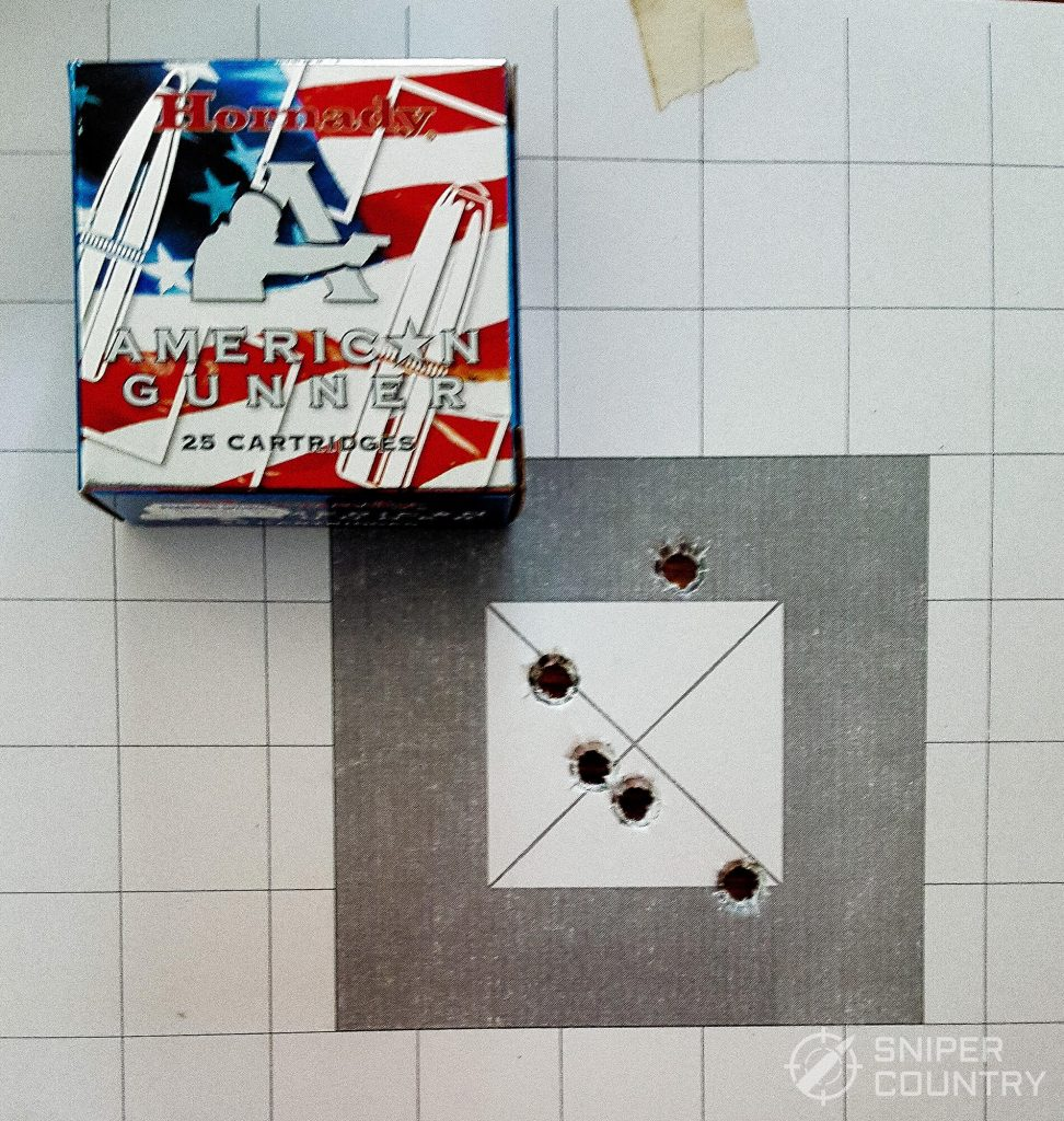 American gunner target