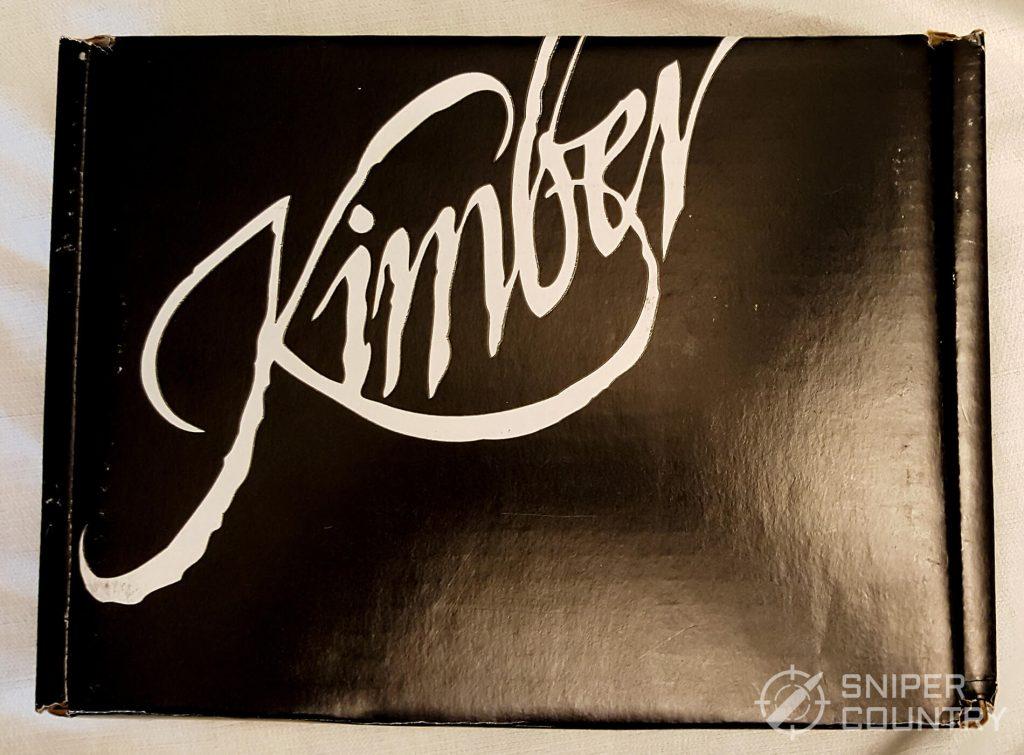 Kimber Micro 9 cardboard box