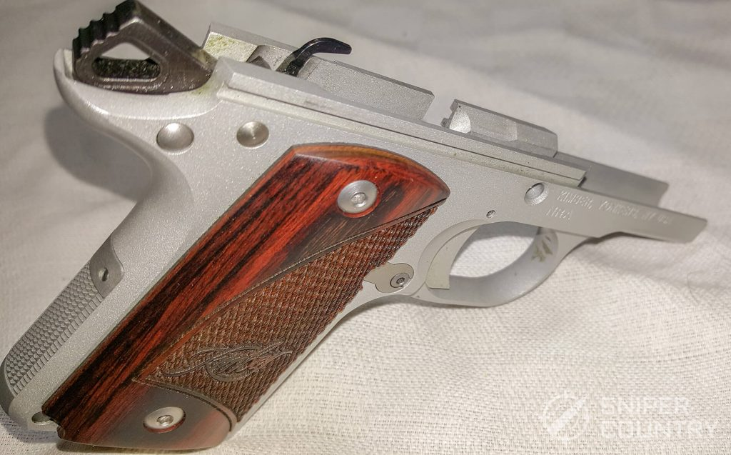 Kimber Micro 9 frame hammer ejector