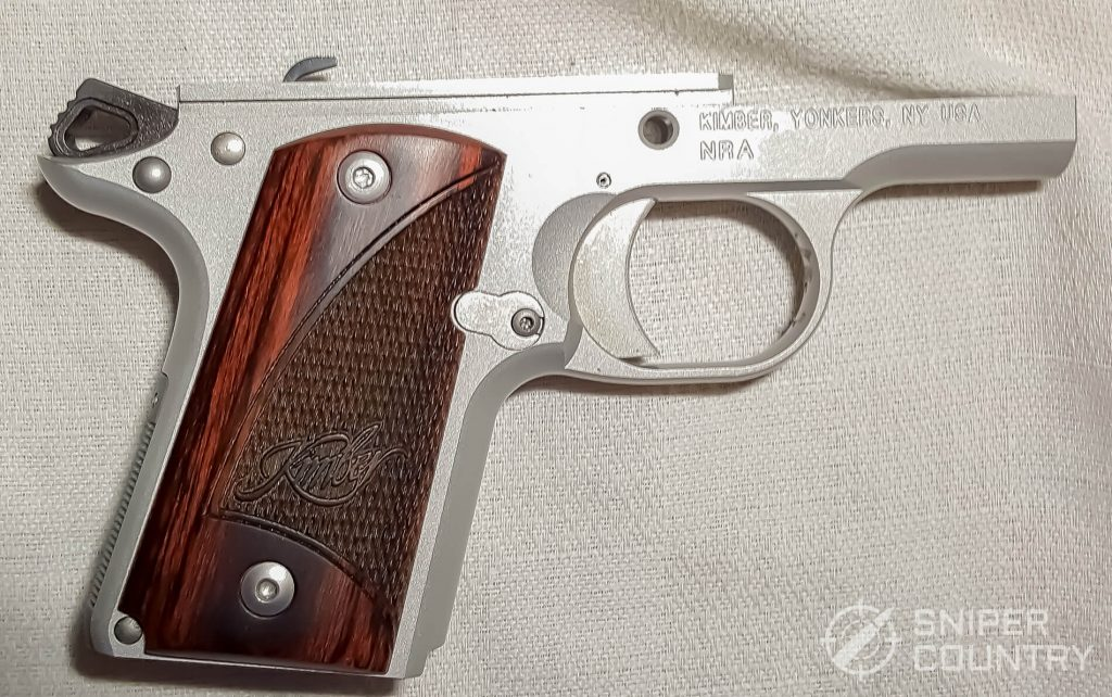 Kimber Micro 9 frame right side