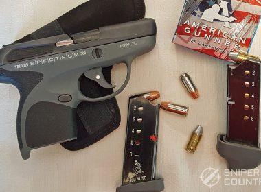 The Taurus Spectrum, Magazines and Ammo