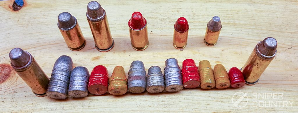 cast bullets on board