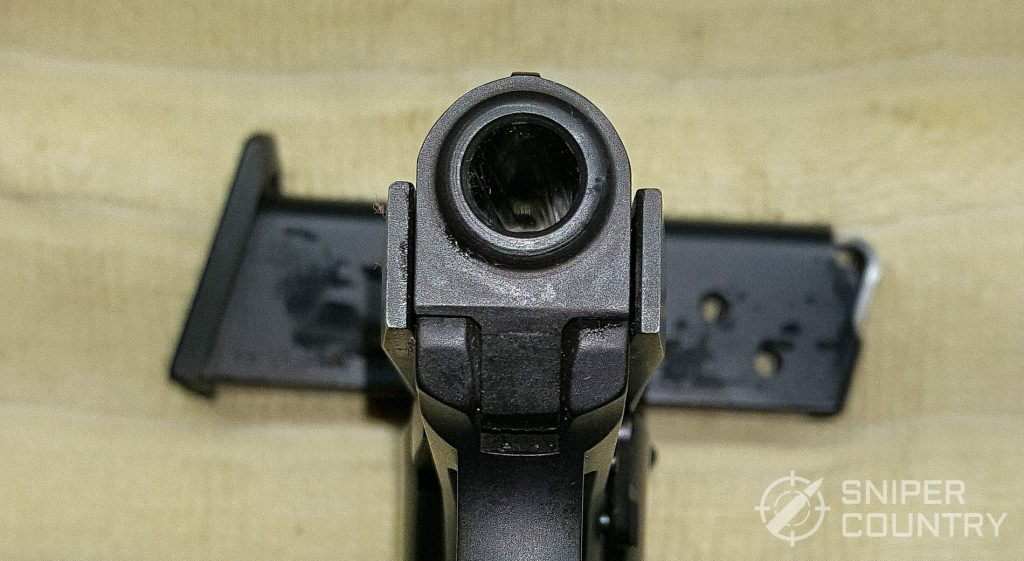 Beretta 3032 Tomcat muzzle