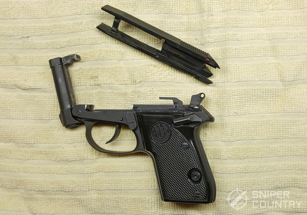 Beretta 3032 Tomcat slide off
