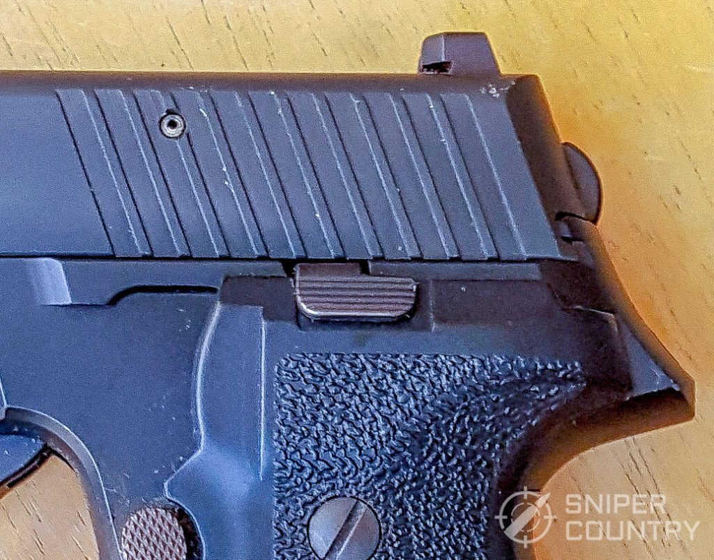 SIG Sauer P226 no-decocker or hammer spur