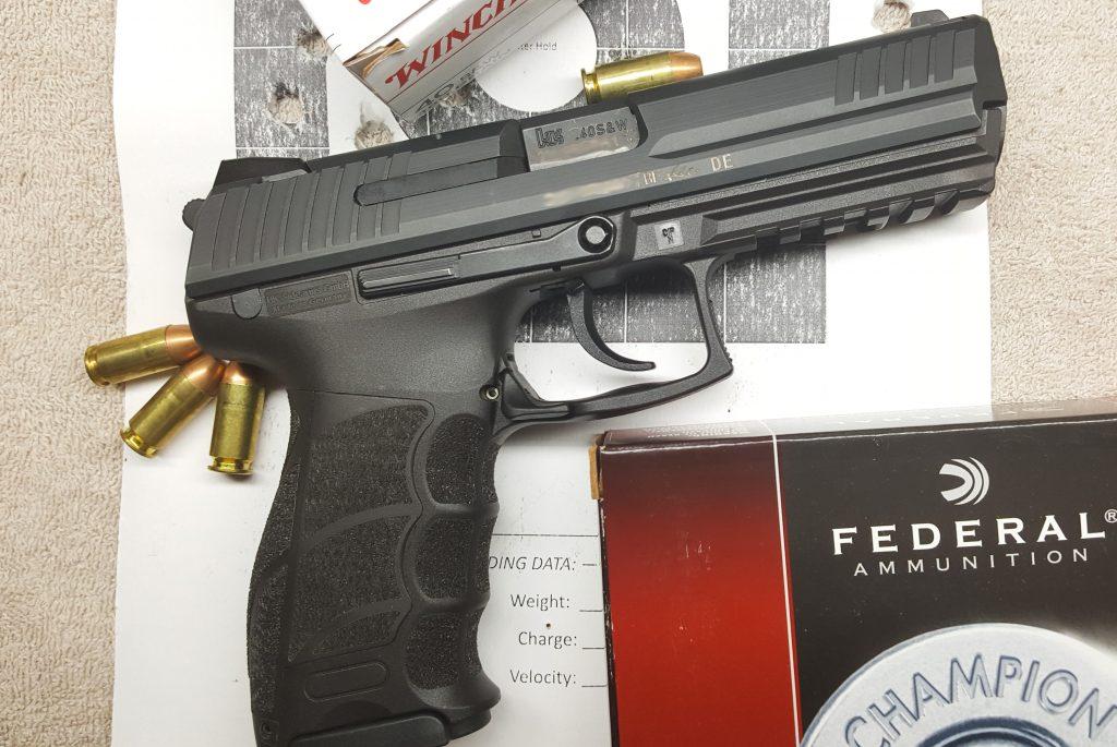 H&K P30L .40 S&W