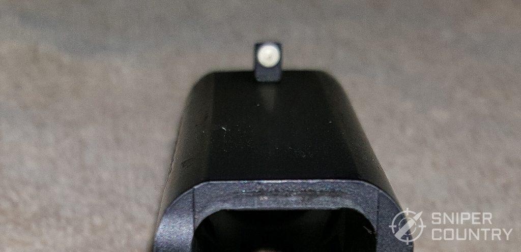SAR K2P front sight white