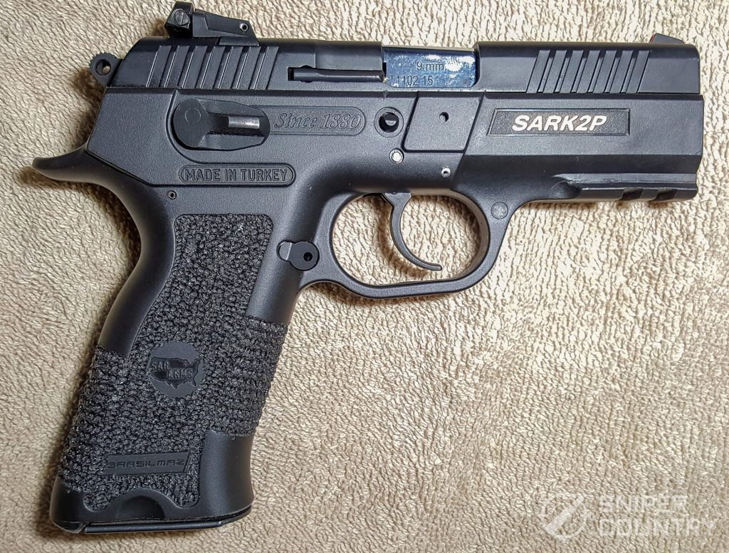 SAR K2P gun right side