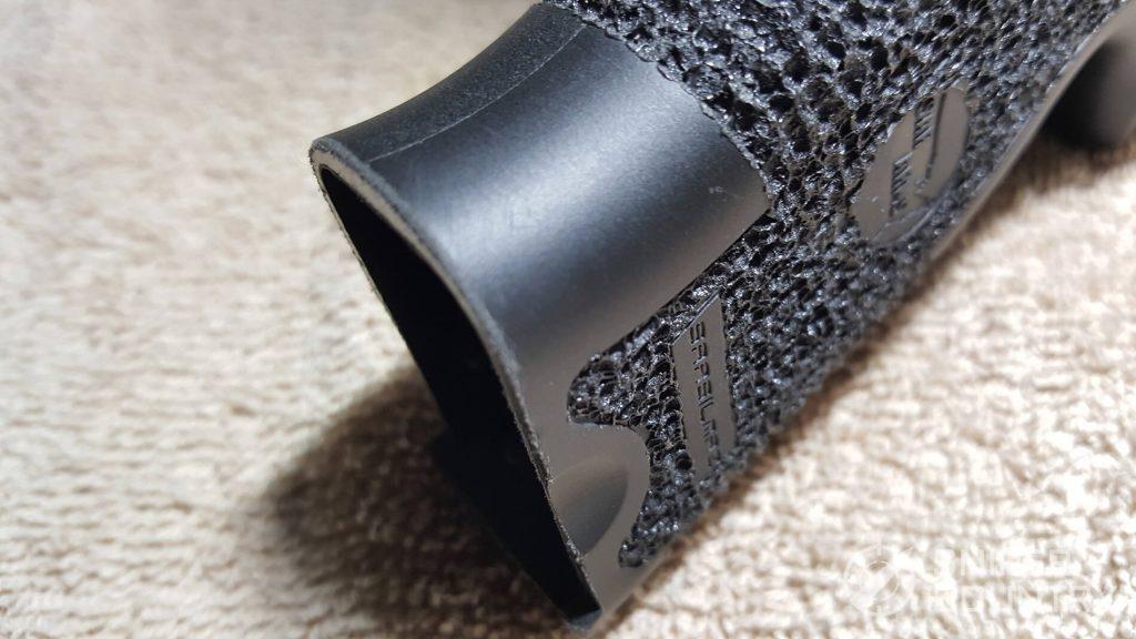 SAR K2P sharp edges on grip