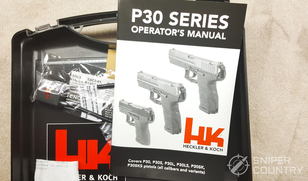 case manual of the H&K P30L