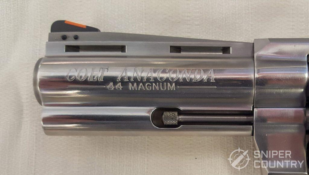 Colt Anaconda gun left