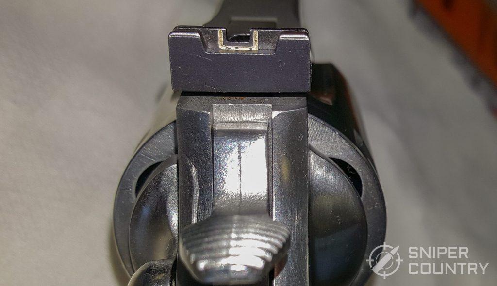 Colt Anaconda rear sight