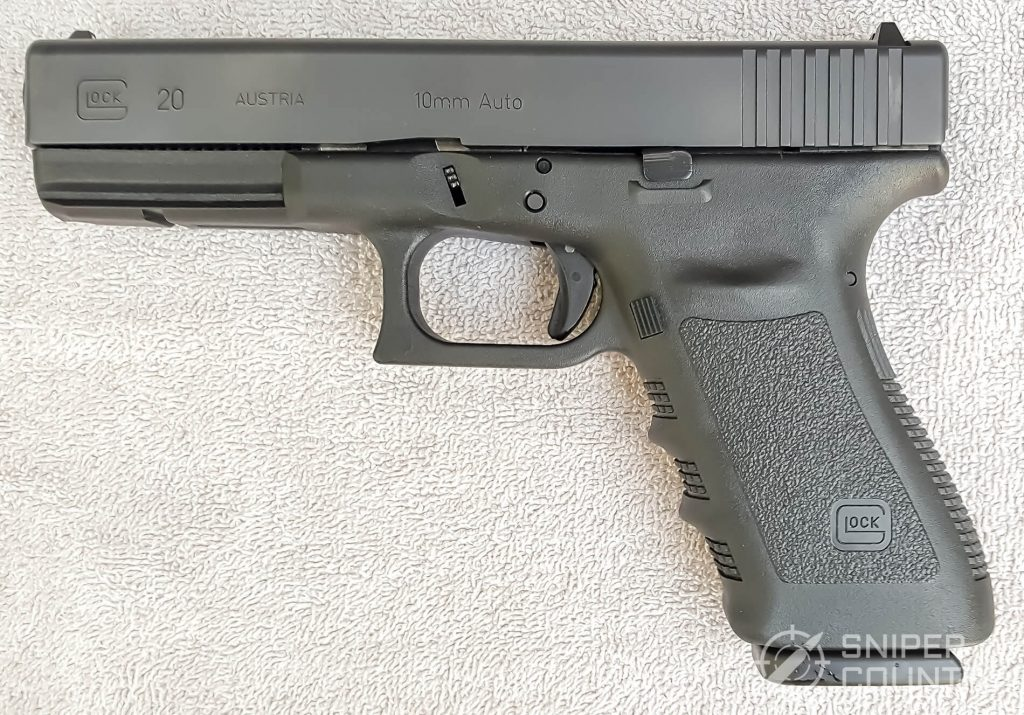 Glock 20 left side