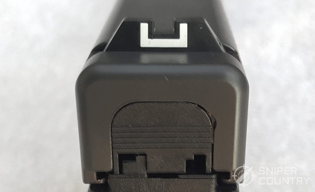 Glock 20 rear sight