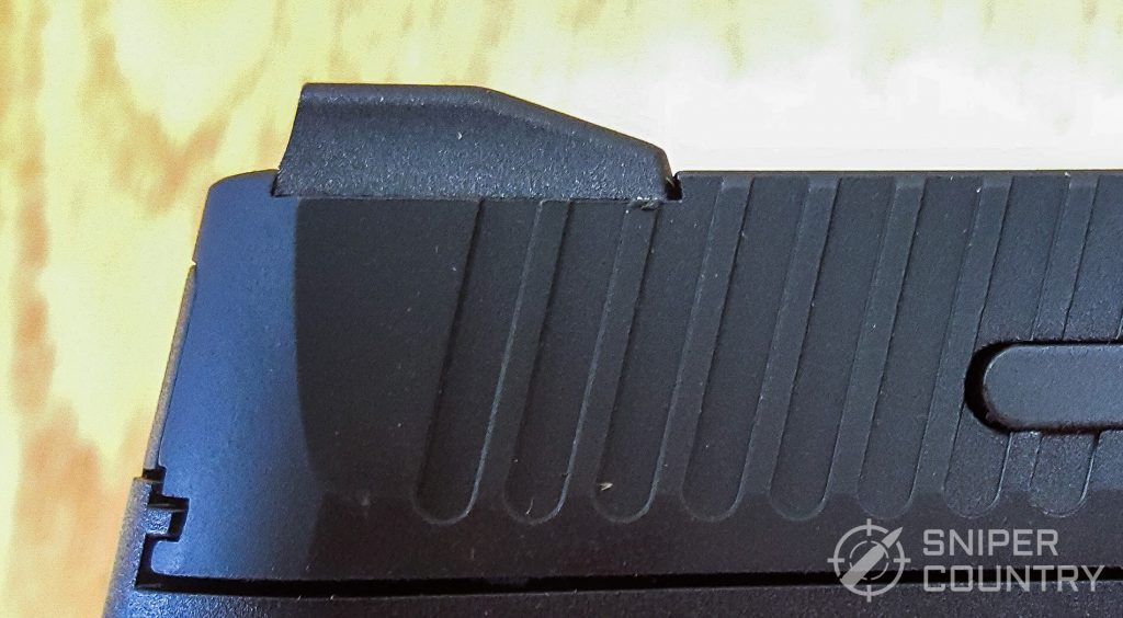 Taurus G3 rear sight dovetail