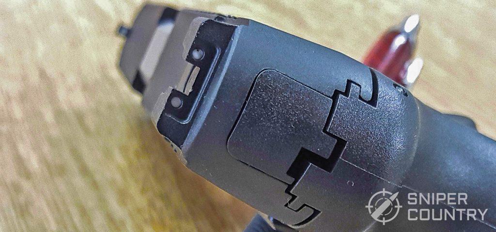 Taurus G3 rear sight