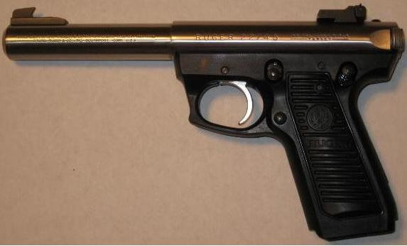ruger mkII 22 45