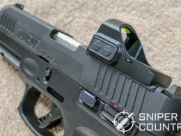 Taurus G3 with Tru Glo red dot sight side shot 2