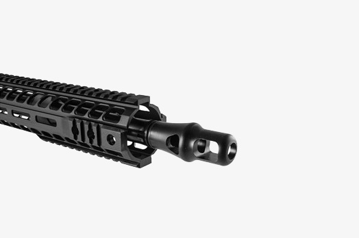 Radical Firearms Complete .450 Bushmaster Upper Receiver muzzle