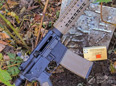 Rock River Arms LAR-15 outdoors