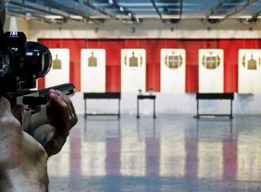 Ruger 10/22 on the range