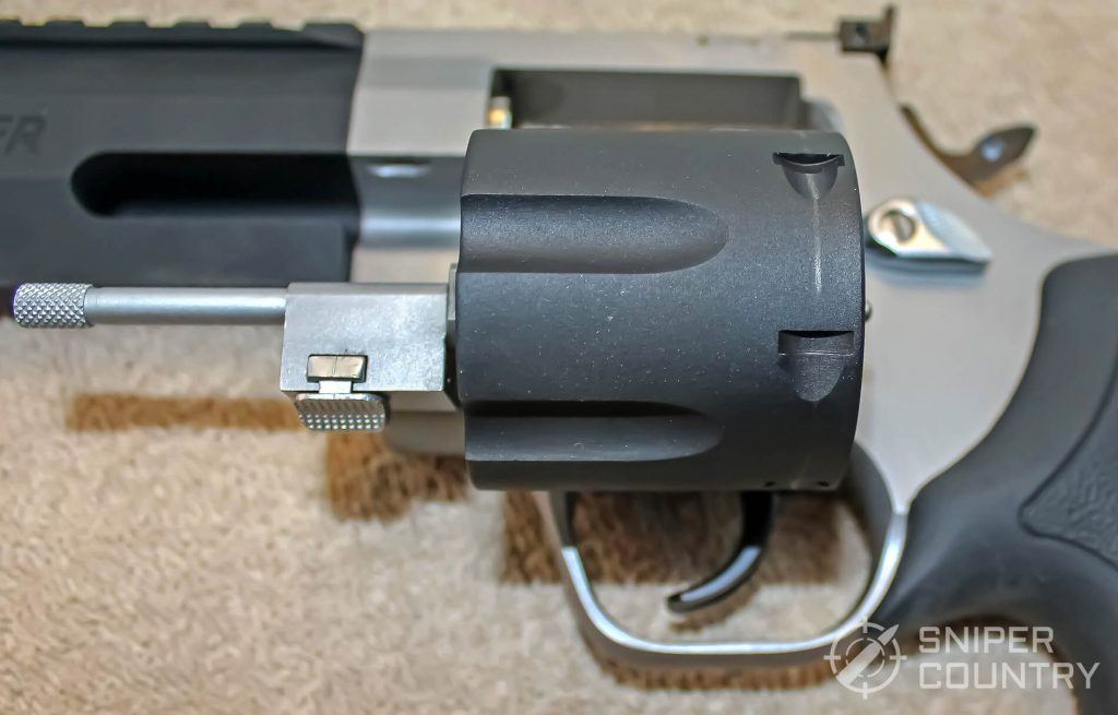 Taurus Raging Hunter cylinder open