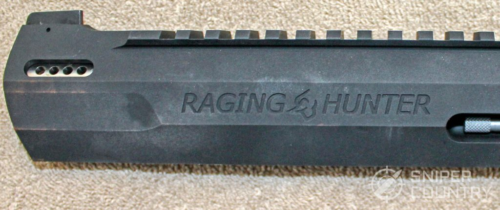 Taurus Raging Hunter left side barrel engraving