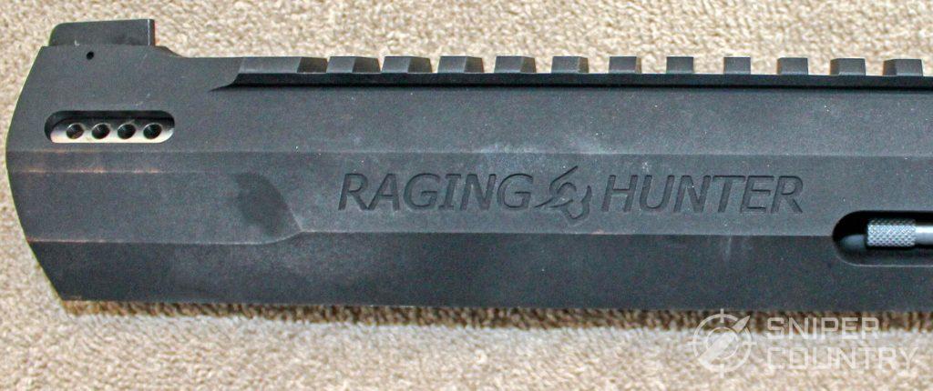 Taurus Raging Hunter left side barrel engraving