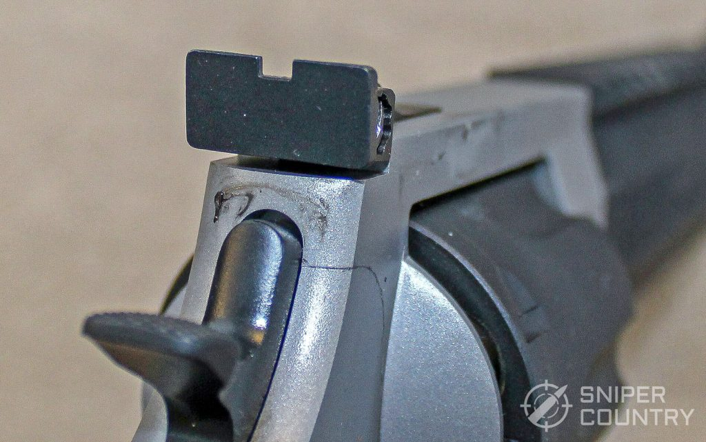 Taurus Raging Hunter rear sight