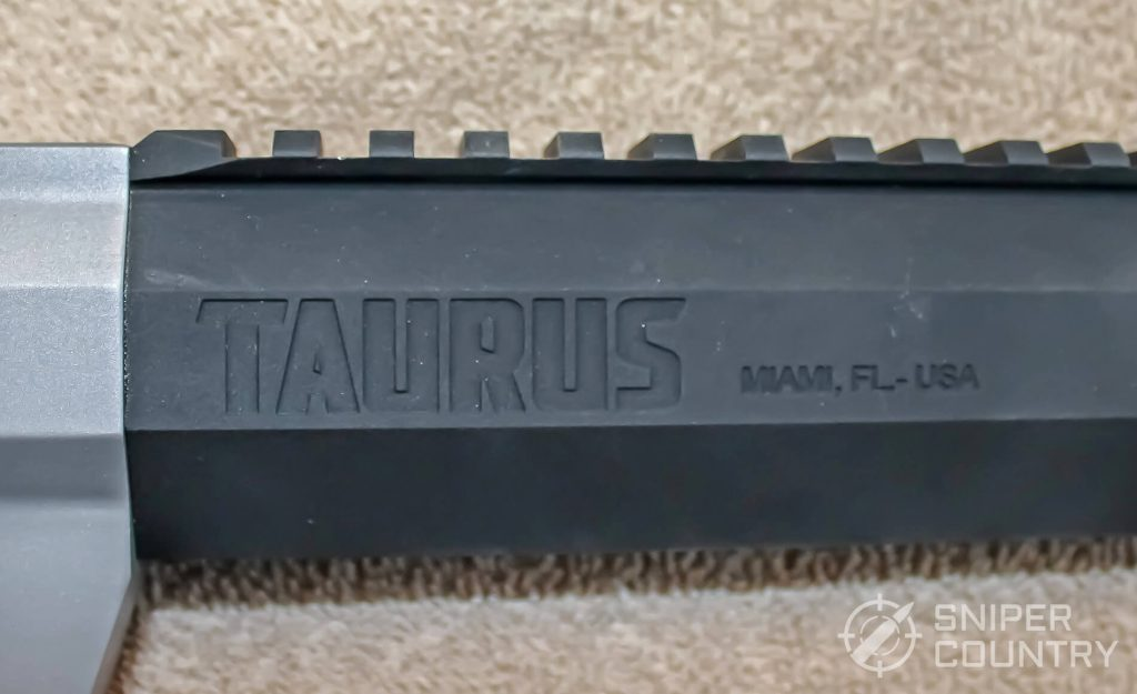 Taurus Raging Hunter right barrel engraving