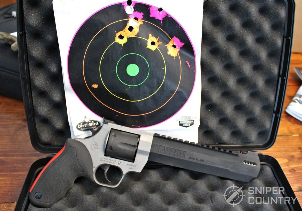 Taurus Raging Hunter with target